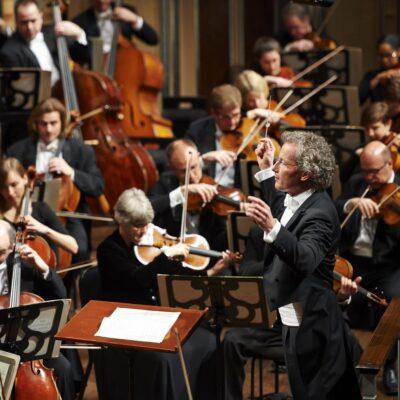 The Cleveland Orchestra mit ihrem Musikdirektor Franz Welser-Möst