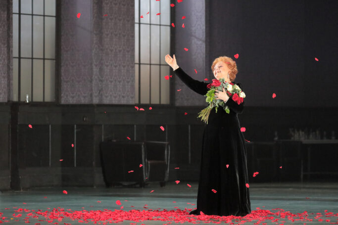 Edita Gruberová bei ihrem Abschiedskonzert an der Bayerischen Staatsoper