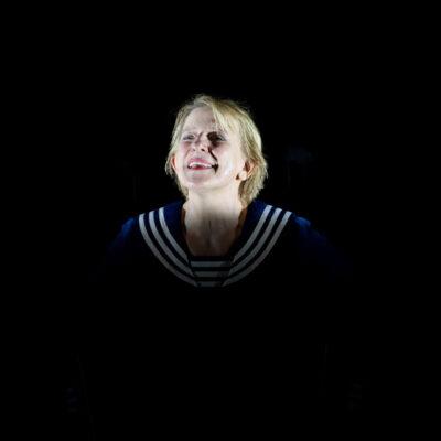 """Dagmar Manzel in """"Pierrot Lunaire"""""""
