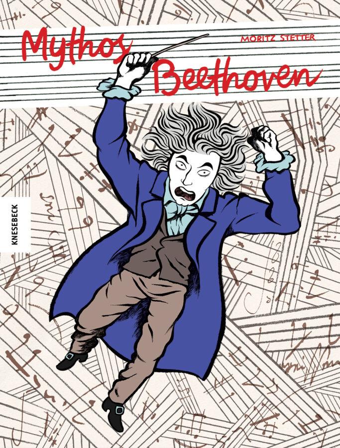 """Cover der Graphic Novel """"Mythos Beethoven"""""""