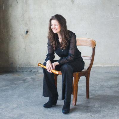 Zu Gast in Magdeburg: Flötistin Dorothee Oberlinger gibt bei den Telemann-Festtagen auch eine Junior Masterclass