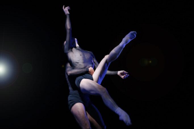 "Szene aus ""Solitude"" an der Oper Leipzig"