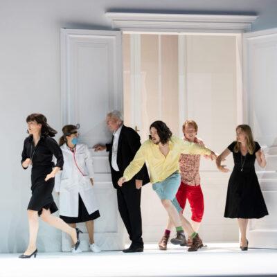 """Mozarts Werke machten immer einen großen Teil des Programms aus. Auch im Jubiläumsjahr wurde seine Oper """"Così fan tutte"""" aufgeführt."""