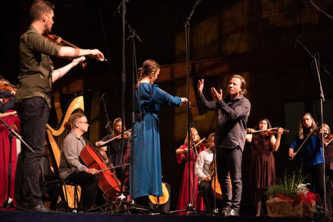 Kristjan Järvi dirigiert das Baltic Sea Philharmonic beim Usedomer Musikfestival 2020