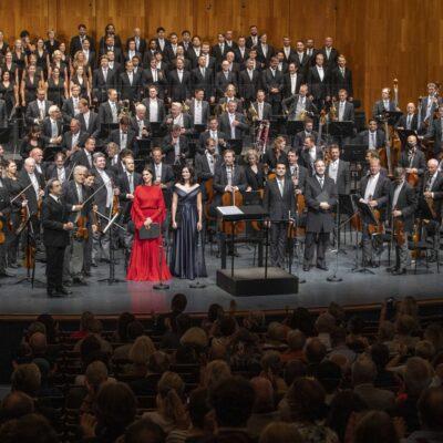 Beethovens Neunte mit den Wiener Philharmonikern im August 2020