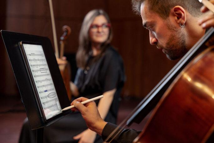 eNote kann auch im Konzertsaal verwendet werden