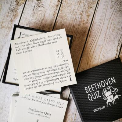 """Das """"Beethoven-Quiz"""" von Melanie Florin"""