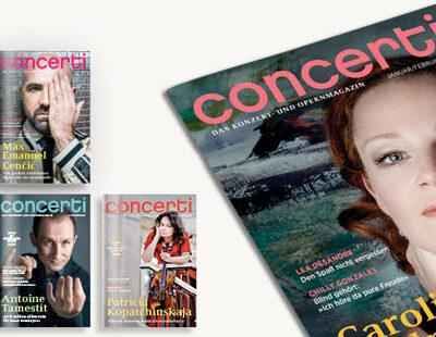 Druckfrisch: die concerti Doppelausgabe im neuen Jahr!