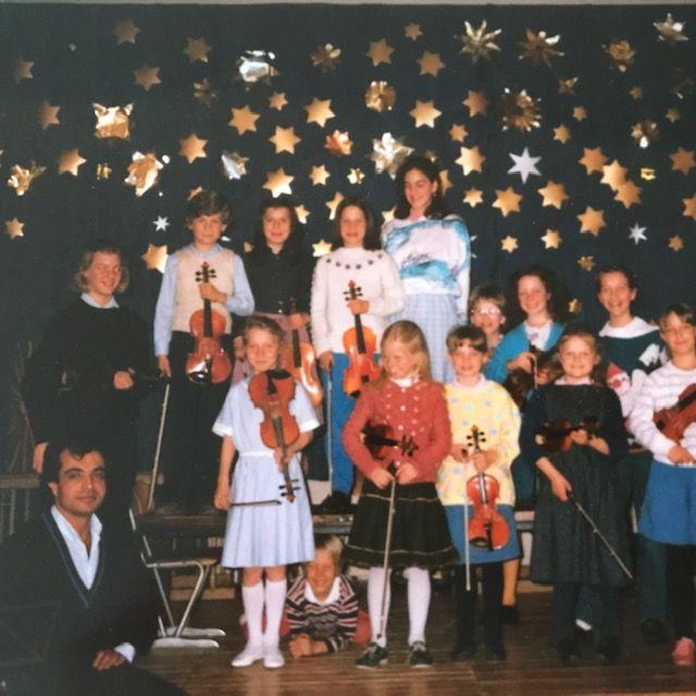 Geigenlehrer Ali Taş bereitete Carolin Widmann auf ihr Geigenstudium vor