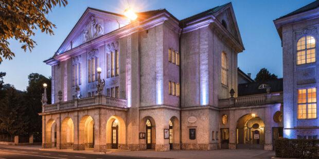 Für die Mozartwoche 2021 zur digitalen Spielstätte umfunktioniert: Das Mozarteum in Salzburg