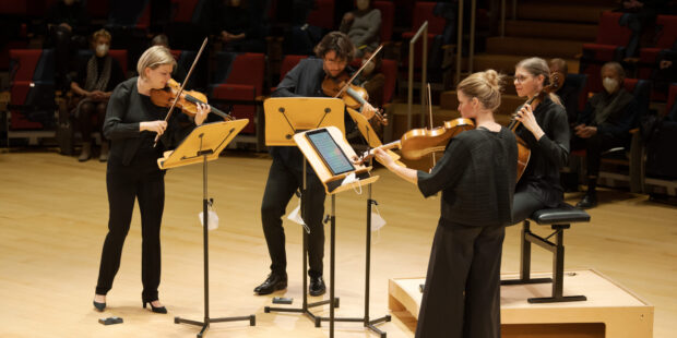Das Chiaroscuro Quartet im Pierre Boulez Saal