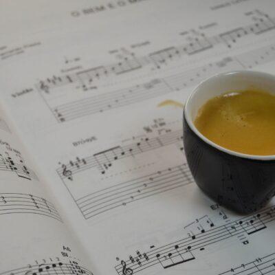 Kaffee ist ein Kulturgut, das genau wie eine Komposition aus purer Leidenschaft entsteht