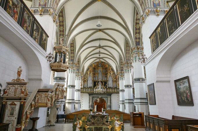 In der Marienkirche Wolfenbüttel wurde Michael Praetorius bestattet.