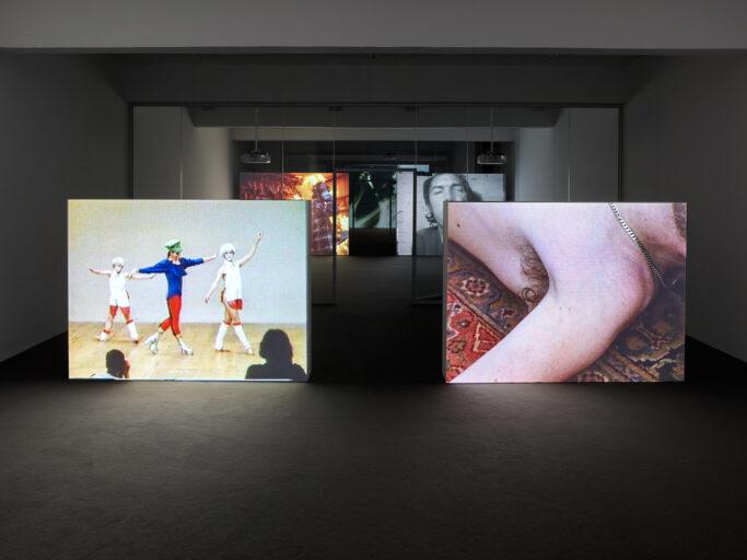 """Installationsansicht """"GENERATION LOSS"""" der JSC Düsseldorf"""