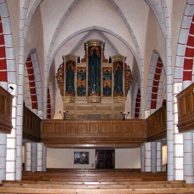 Die Röder-Orgel in der Stadtkirche St. Marien in Wesenberg