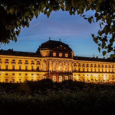 Prunkvoller Konzertort des Mozartfests: die Würzburger Residenz
