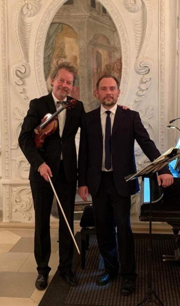 Ingolf Turban und Marlo Thinnes