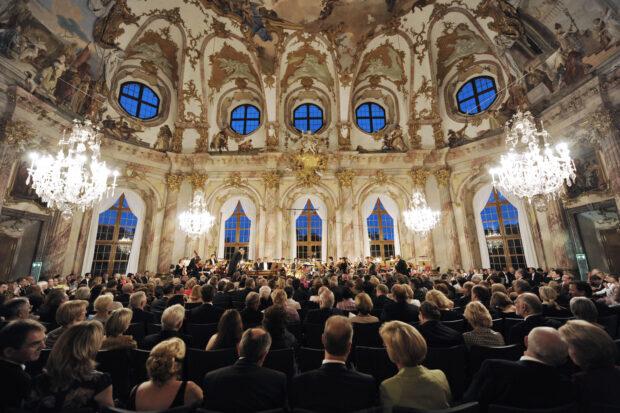 Der Kaisersaal in der Würzburger Residenz