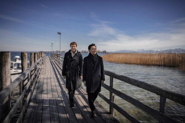 Insel der Begegnung: Nils Mönkemeyer und William Youn auf Herrenchiemsee