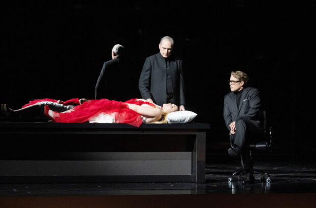 Mélissa Petit (Bellezza), Charles Workman (Tempo), Lawrence Zazzo (Disinganno)