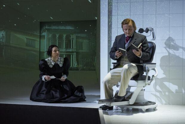 Kristiane Kaiser (Isolde), Norbert Ernst (Tristan)