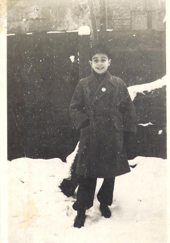 Horst Cohn alias Zvi Cohen Anfang 1943 in Berlin
