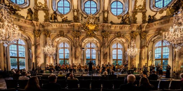 """Mozartfest Würzburg """"Idomeneo"""" im Kaisersaal der Residenz"""