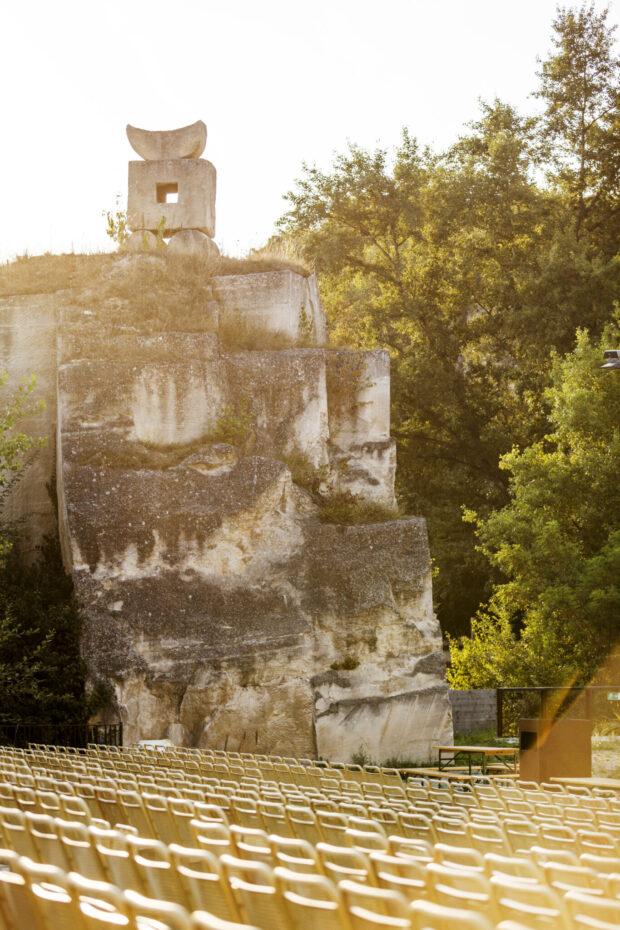 Die kleinere Ruffinibühne, benannt nach Romolo Ruffini, dem ersten Leiter des Steinbruchs unter Fürst Nikolaus III. Esterázy
