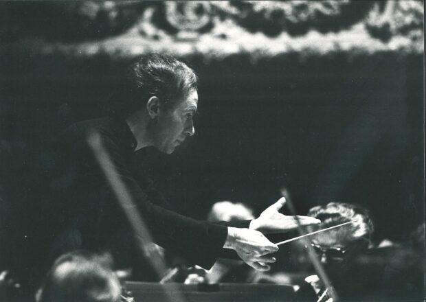 Christoph Eschenbach in der Tonhalle Zürich 1983