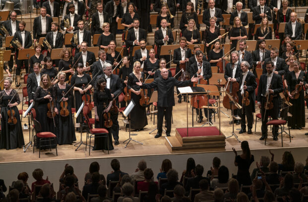 Amtsantritt beim Konzerthausorchester in Berlin