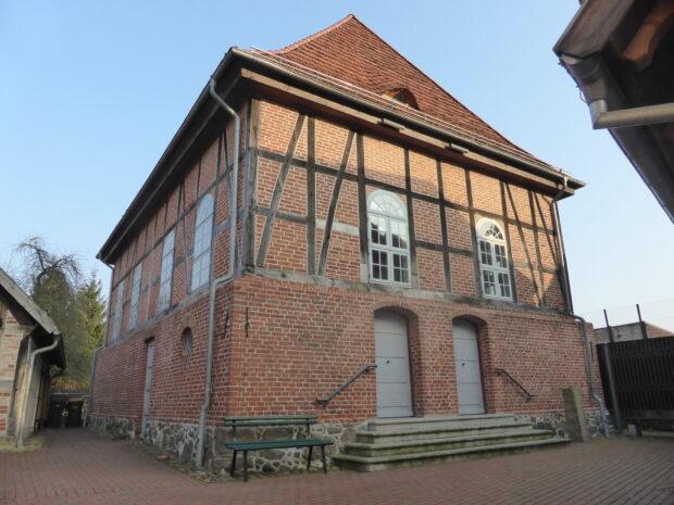 Gebetshaus der Alten Synagoge Hagenow. Dort werden auch Konzerte veranstaltet, etwa im Rahmen der Festspiele Mecklenburg-Vorpommern.