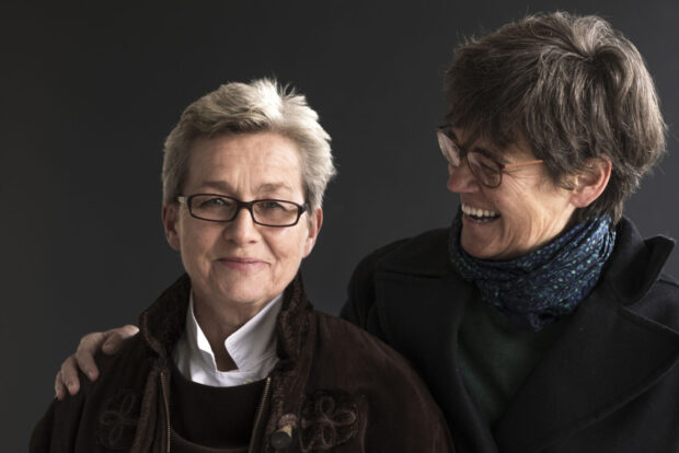 Michi Gaigg (links) und Carin van Heerden