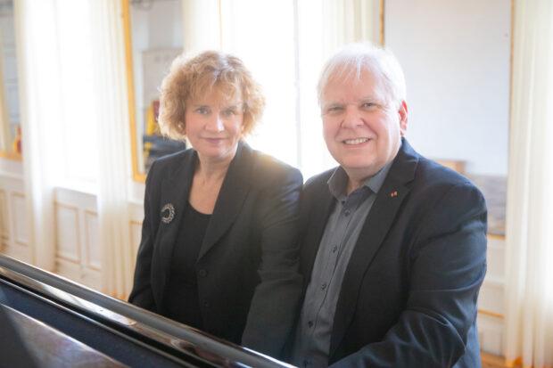 Friederike Haufe und Volker Ahmels