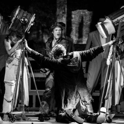 "Szenenbild aus ""Intolleranza 1960"""