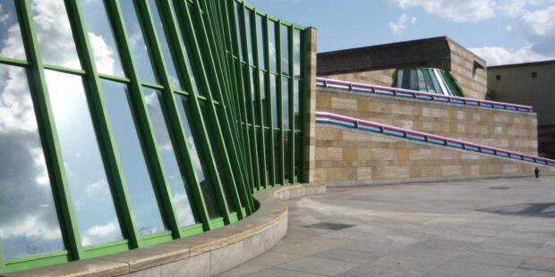 Fassade der Staatsgalerie Stuttgart